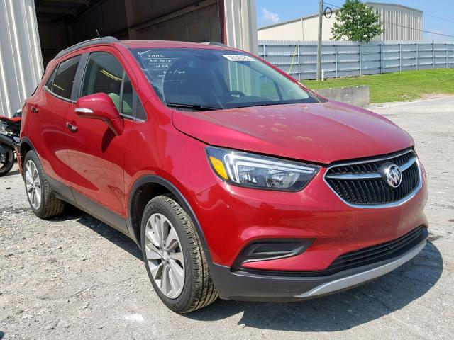 Salvage 2019 Buick ENCORE PRE for sale