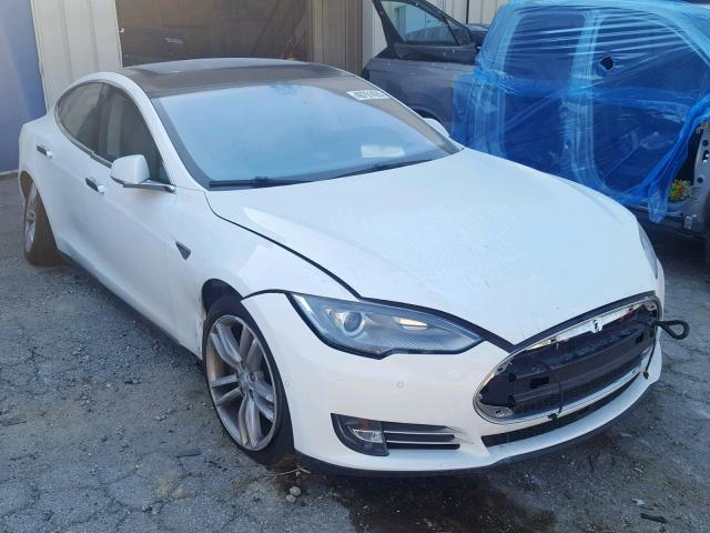 click here to view 2015 TESLA MODEL S 85 at IBIDSAFELY