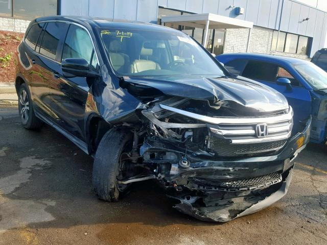 Salvage 2016 Honda PILOT EXLN for sale