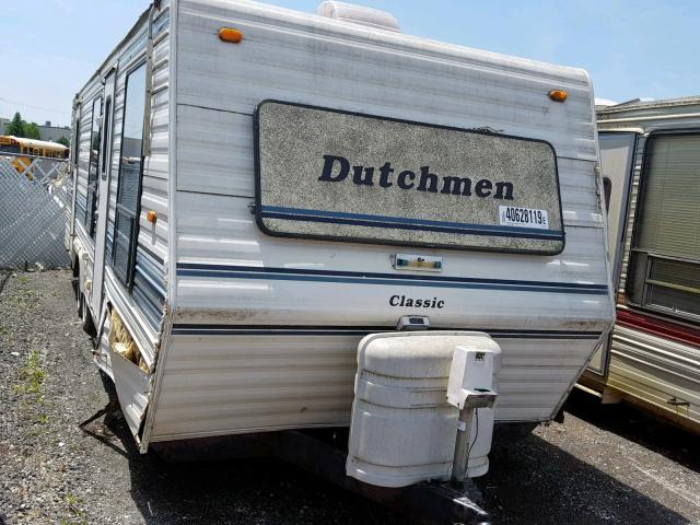 Dutchmen Classic salvage cars for sale: 1990 Dutchmen Classic