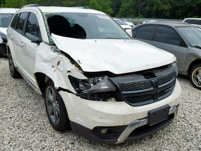 Salvage 2017 Dodge JOURNEY CR for sale