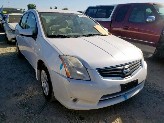 Salvage 2010 Nissan SENTRA 2.0 for sale