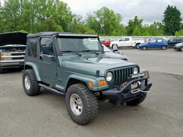 1999 Jeep Wrangler For Sale >> Reconstructed Title 1999 Jeep Wrangler 2dr Spor 2 5l 4 For Sale In