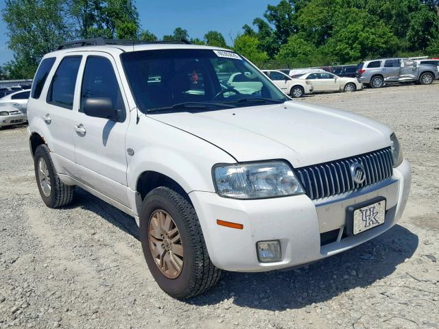 Salvage 2007 Mercury MARINER LU for sale