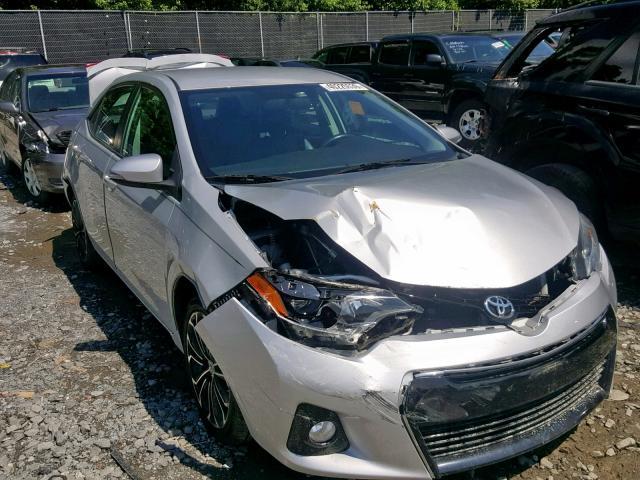 Salvage 2015 Toyota COROLLA L for sale