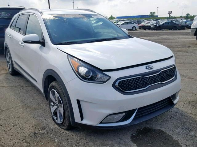 KIA salvage cars for sale: 2018 KIA Niro EX