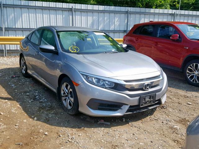 Salvage 2016 Honda CIVIC LX for sale