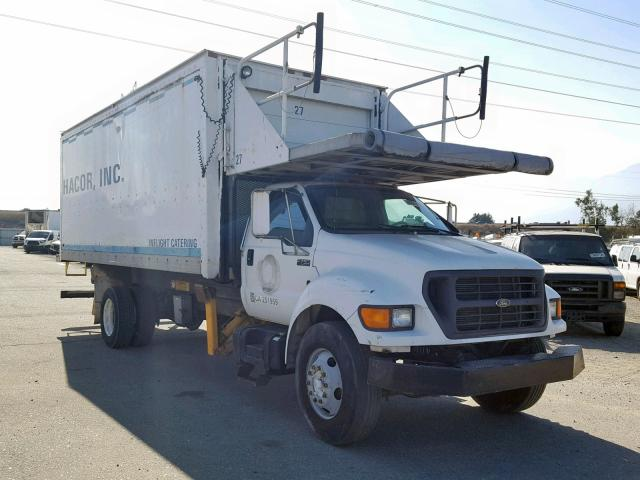 Ford F750 Super salvage cars for sale: 2000 Ford F750 Super