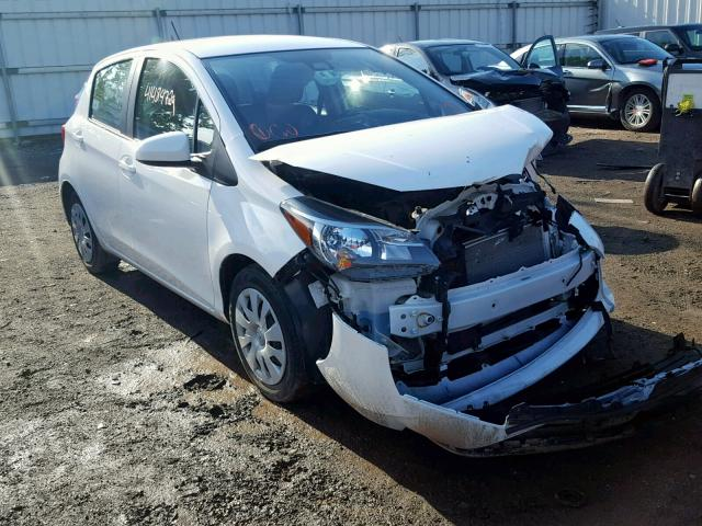 Salvage 2017 Toyota YARIS L for sale
