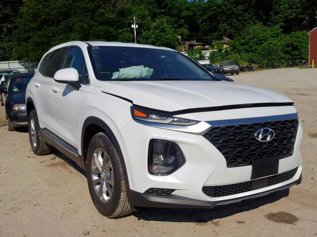 Salvage 2019 Hyundai SANTA FE S for sale