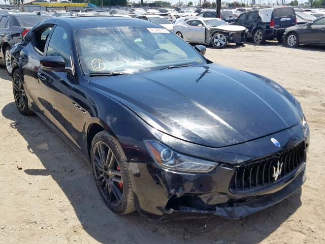 click here to view 2017 MASERATI GHIBLI SPO at IBIDSAFELY