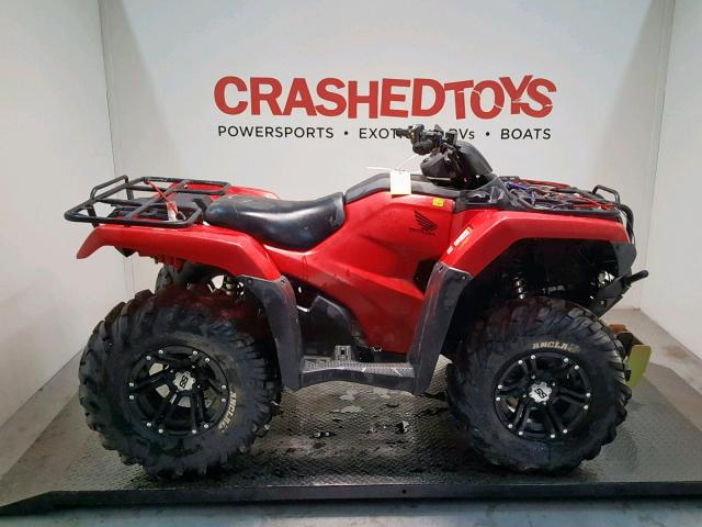 click here to view 2016 HONDA TRX420 FA at IBIDSAFELY