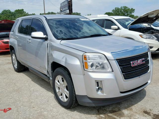Salvage cars for sale from Copart Wichita, KS: 2012 GMC Terrain SL