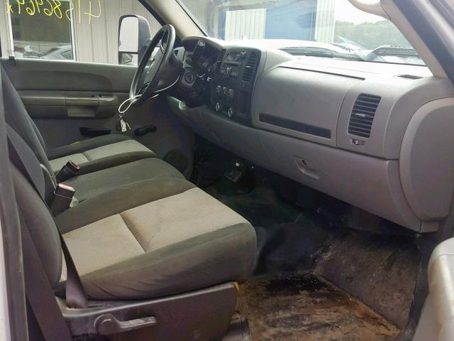 Certificate Of Salvage 2008 Chevrolet Silverado 4dr Ext 6 0l 8 For