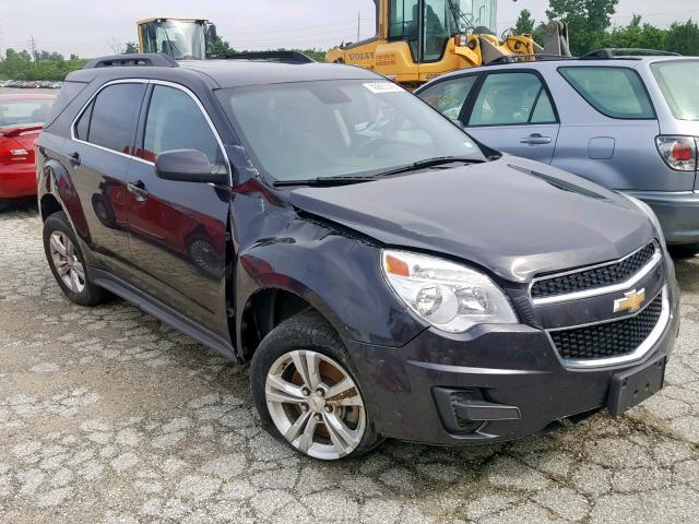 Salvage 2015 Chevrolet EQUINOX LT for sale