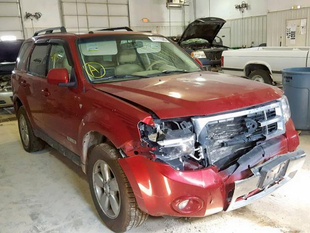 Salvage 2008 Ford ESCAPE LIM for sale