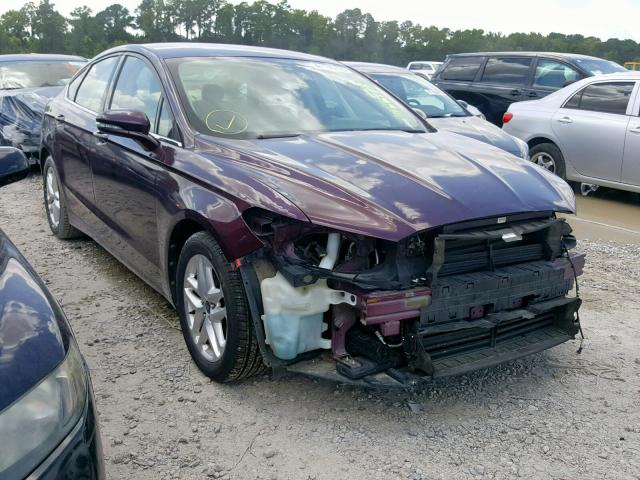 Salvage cars for sale from Copart Houston, TX: 2013 Ford Fusion SE