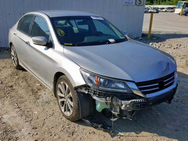 Salvage 2015 Honda ACCORD SPORT for sale