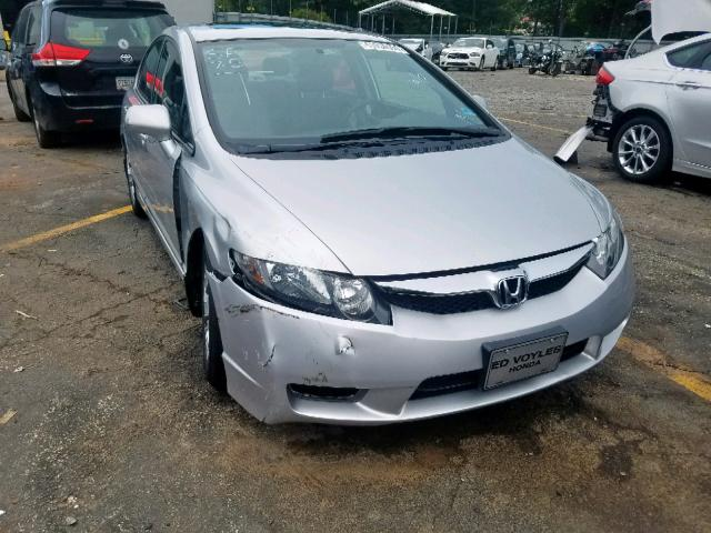 Salvage 2010 Honda CIVIC EX for sale