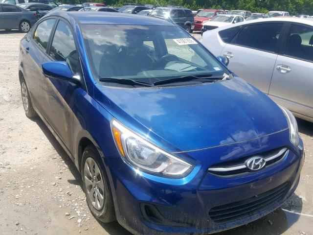Salvage 2015 Hyundai ACCENT GLS for sale
