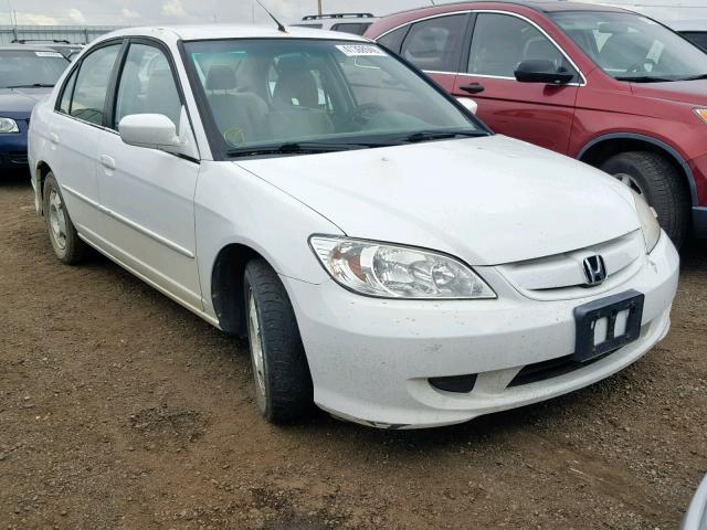 click here to view 2005 HONDA CIVIC HYBR at IBIDSAFELY