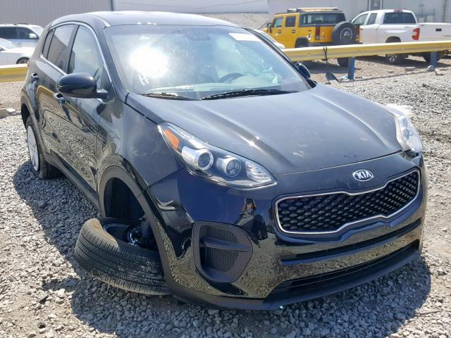 KIA Sportage L salvage cars for sale: 2019 KIA Sportage L