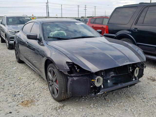 click here to view 2016 MASERATI QUATTROPOR at IBIDSAFELY