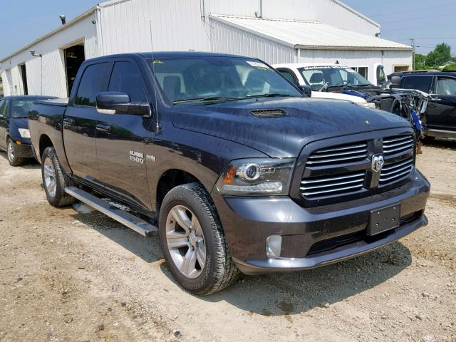 Salvage cars for sale from Copart Fort Wayne, IN: 2016 Dodge RAM 1500 Sport