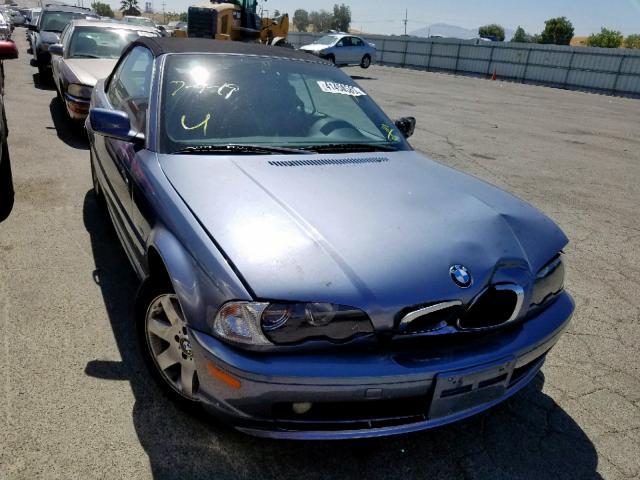 Salvage 2000 BMW 323 CI for sale