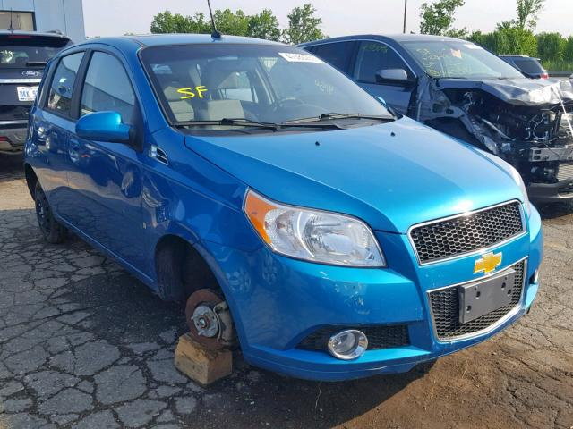 Salvage cars for sale from Copart Woodhaven, MI: 2009 Chevrolet Aveo LT