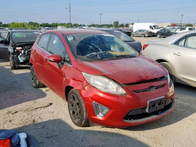 Salvage 2011 Ford FIESTA SES for sale