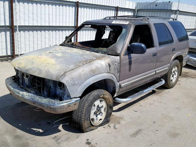 2000 Chevrolet Blazer 4 3L 6 for Sale in Bakersfield CA - Lot: 42107329