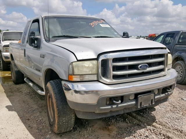 Salvage cars for sale from Copart Houston, TX: 2002 Ford F250 Super