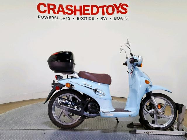 click here to view 2007 KYMCO USA INC PEOPLE 50 at IBIDSAFELY