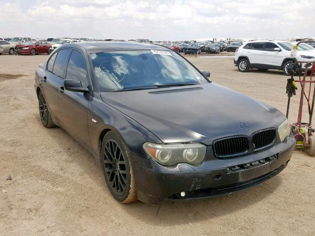 Salvage 2004 BMW 745 I for sale
