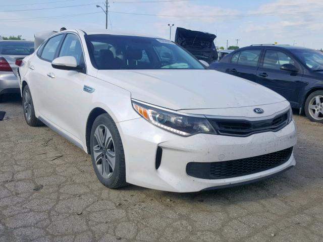 Salvage 2017 KIA OPTIMA HYBRID for sale