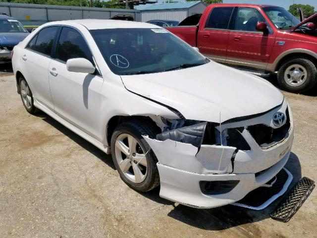 Salvage cars for sale from Copart Wichita, KS: 2011 Toyota Camry Base