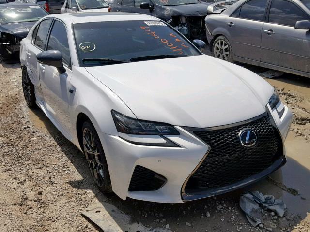Salvage 2017 Lexus GS-F for sale
