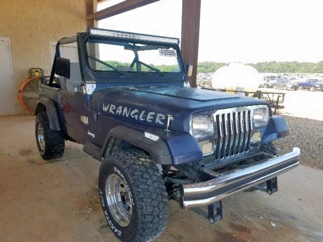 1990 Jeep Wrangler / 4 2L 6 for Sale in Tanner AL - Lot: 41835509