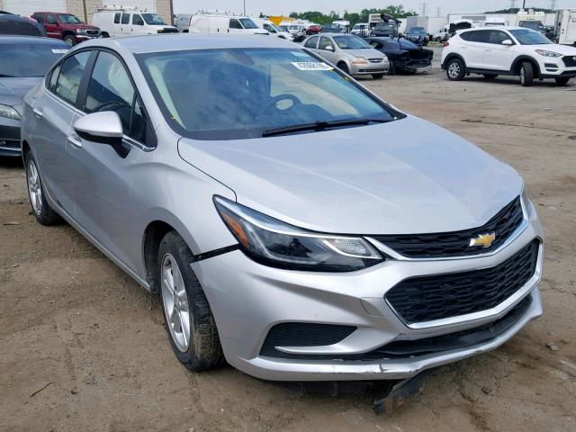 Salvage 2018 Chevrolet CRUZE LT for sale