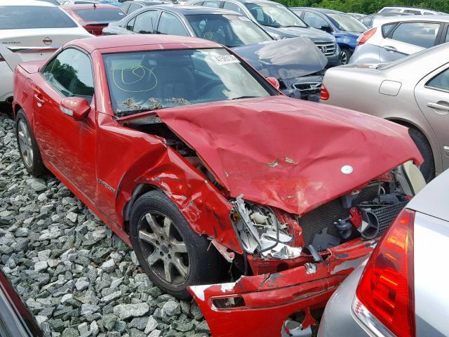 Salvage 2001 Mercedes-Benz SLK 230 KO for sale