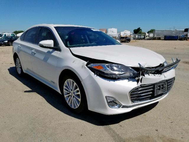 Salvage 2013 Toyota AVALON HYBRID for sale
