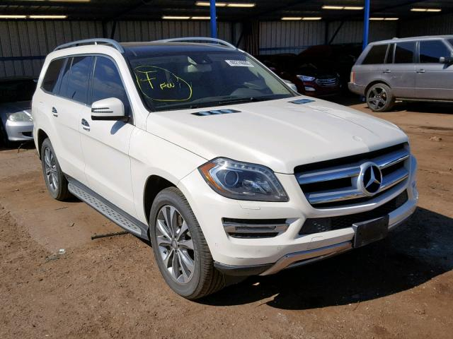 Salvage 2013 Mercedes-Benz GL 450 4MATIC for sale