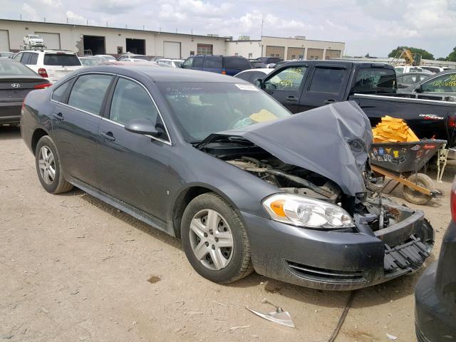 Salvage 2010 Chevrolet IMPALA LS for sale