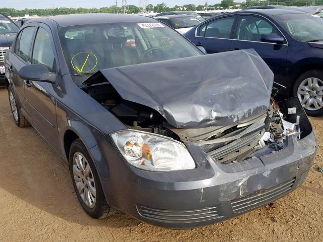 Salvage 2009 Chevrolet COBALT LT for sale
