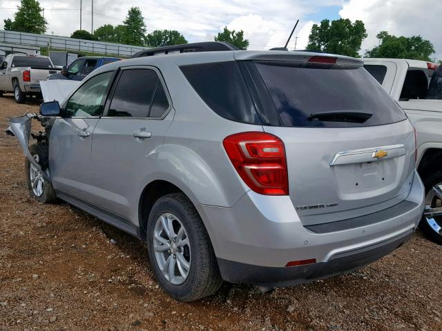 2017 CHEVROLET EQUINOX LT - Right Front View