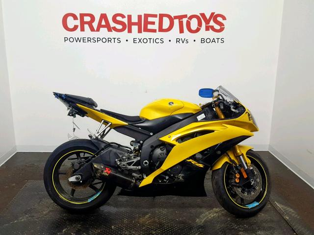 click here to view 2008 YAMAHA YZFR6 at IBIDSAFELY