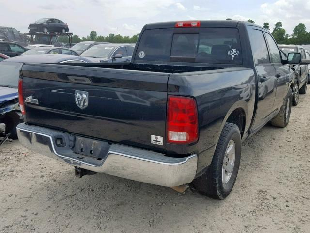 2009 DODGE RAM 1500 - Right Rear View