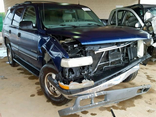 Chevrolet Tahoe C150 salvage cars for sale: 2002 Chevrolet Tahoe C150