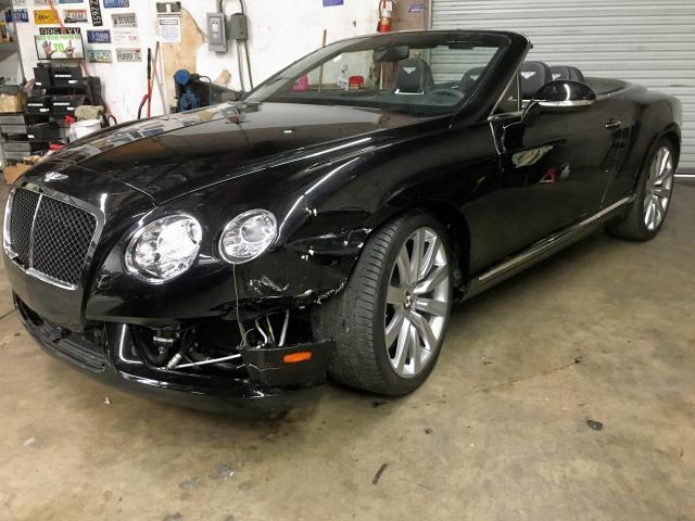 click here to view 2013 BENTLEY CONTINENTA at IBIDSAFELY